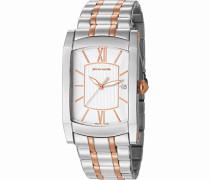 Armbanduhr Pont Des Arts Analog Quarz Edelstahl Swiss Made