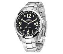 Armbanduhr 180 Analog Quarz Edelstahl R3253180003