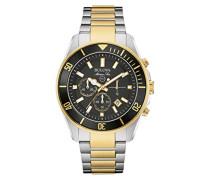 Armbanduhr Marine Star Analog Quarz Edelstahl 98B249
