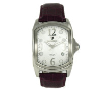 Herren-Armbanduhr Analog Quarz Leder 0200WODR