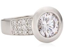 Damenring aus 925er Sterling Silber und 25 weißen Zirkonia Ringgröße: 54 368270002L-054