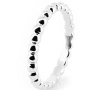 Damen-Stapelring Style & Kugelring 925 Silber