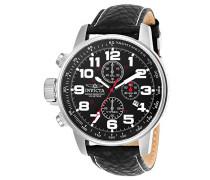 2770 I-Force Uhr Edelstahl Quarz schwarzen Zifferblat