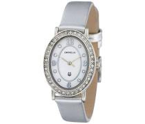 Damen-Armbanduhr Oval Edition Analog Quarz Leder