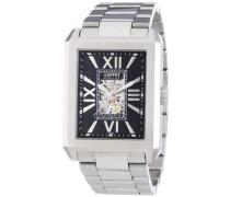 Collection Armbanduhr Xanthos Black Analog Automatik Edelstahl EL101051F06