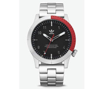 Analog Quarz Smart Watch Armbanduhr mit Edelstahl Armband Z03-2958-00