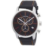 Analog Quarz Uhr mit Leder Armband K2G271C1