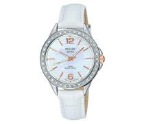 Damen Analog Quarz Uhr mit Leder Armband PY5013X1