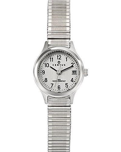 Damen-Armbanduhr Analog Quarz Silber 621339