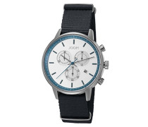 Armbanduhr Urban Anthracite Chronograph Quarz Textil JP101591008