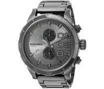Chronograph Quarz Uhr mit Edelstahl Armband DZ4314