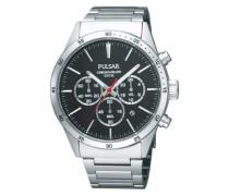 Uhren Armbanduhr XL Modern Chronograph Quarz Edelstahl PT3005X1