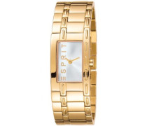 ES900512004 Armbanduhr 045J699 Analog Armband Stahl goldfarben