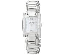 Datum klassisch Quarz Uhr mit Edelstahl Armband 1215607