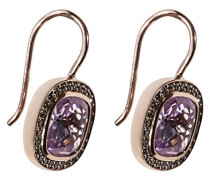 Ohrhänger Glam & Soul 925 Silber teilvergoldet Zirkonia weiß - H1830-633-9