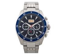 Chronograph Quarz Uhr mit Edelstahl Armband JC1G013M0055