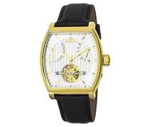 Datum klassisch Automatik Uhr mit Leder Armband BM230-202