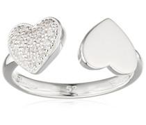 Ring Glam & Soul 925 Sterling Silber Zirkonia weiß