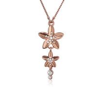 Jewelry Halskette Messing mit Anhänger aus der Serie soft glimpse roségold beschichtet