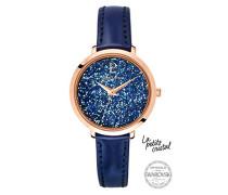 Damen Analog Quarz Uhr mit Leder Armband 105J966
