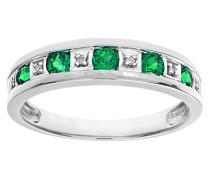 Damen-Ring Gelbgold Smaragd grün PR10429W EM-K
