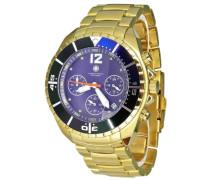 Herren-Armbanduhr Zeta CD-ZETA-QZ-GD-GDGD-BL