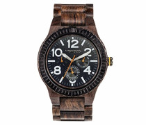 Analog Quarz Smart Watch Armbanduhr mit Holz Armband WW26005
