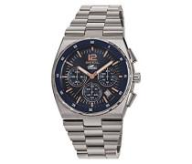 Chronograph Quarz Uhr mit Edelstahl Armband TW1640