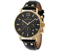Erwachsene Armbanduhr Chronograph Quarz Leder ES-8001-01