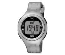 Armbanduhr XL Pulse Metallic Digital Quarz Silikon PU910541009