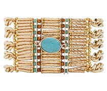 Damen-Manschetten Armbänder Edelstahl E18LBARAGO