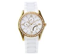 Armbanduhr Analog Quarz Premium Keramik Diamanten - STM15M7
