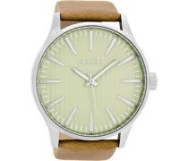 Erwachsene Digital Quarz Uhr mit Leder Armband C8560