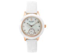 Damen Analog Quarz Uhr mit Leder Armband 063F990