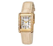 Damen-Armbanduhr XS Analog Leder ES102932004
