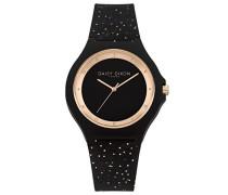 Datum klassisch Quarz Uhr mit Silikon Armband DD031BRG