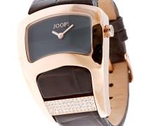 Armbanduhr XS Analog Quarz Leder JP100572F06U