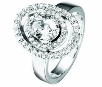 Damen-Ring Astre Sterling-Silber 925