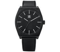Analog Quarz Uhr mit Leder Armband Z05-756-00
