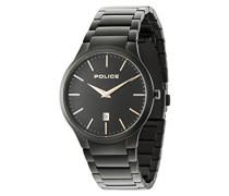 Datum klassisch Quarz Uhr mit Edelstahl Armband 15246JSB/02M