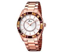 Damen-Armbanduhr Analog Quarz Edelstahl 15893/1