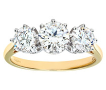 Ring 375 Gelbgold 9 K Zirkonia PR05339Y CZ-P