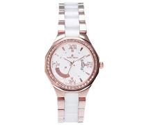 Armbanduhr Analog Quarz Premium Keramik Diamanten - STM15Y5