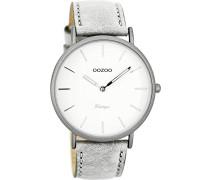 Damen Digital Quarz Uhr mit Leder Armband C7736