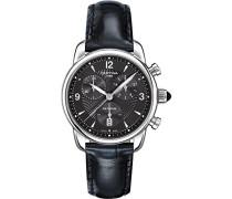 Armbanduhr XS Chronograph Quarz Leder C025.217.16.057.00