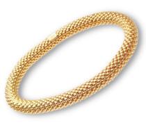 Damen-Gliederarmband Vergoldetes Silber 19cm