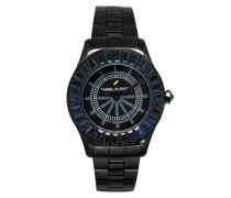 Armbanduhr Analog Quarz Edelstahl DHD 006S-3AM