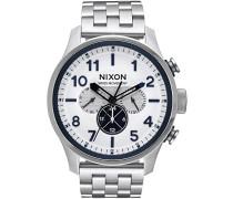 Digital Quarz Uhr mit Edelstahl Armband A1081-130-00