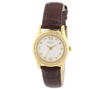 Damen-Armbanduhr XS Analog Quarz Leder 12100540
