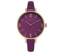 Datum klassisch Quarz Uhr mit PU Armband DD060VRG